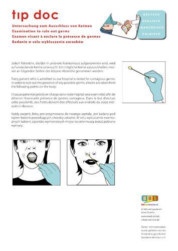 Informationsblatt Abstrich