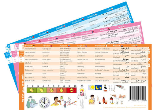 tıp doc clinic coat cards1